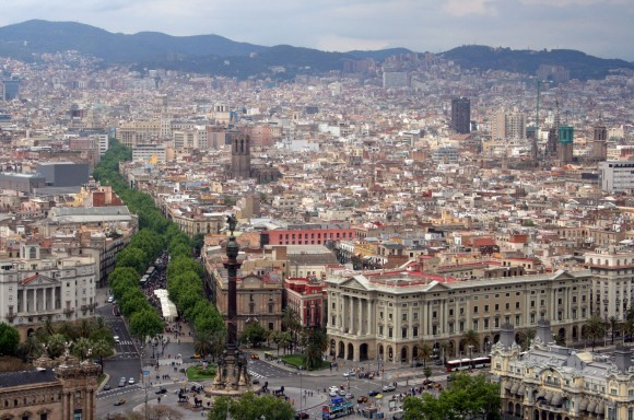 Rambla de Barcelona. Image © Bert Kaufmann [Flickr], bajo licencia CC BY 2.0