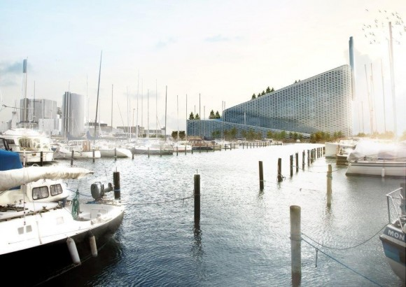 Amager Bakke, Copenhague. © BIG-Bjarke Ingels Group