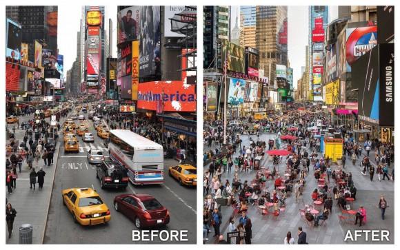 Times Square, Manhattan . Image vía @JSadikKhan [Twitter]