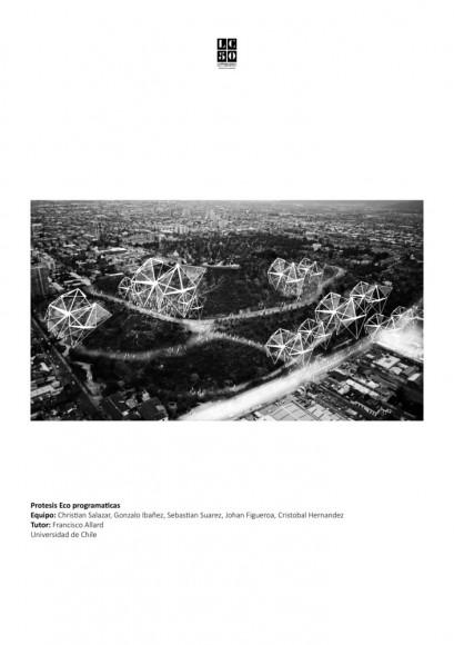 G11: Prótesis eco-programática / Lámina 01. Image Cortesía de Grupo Arquitectura Caliente