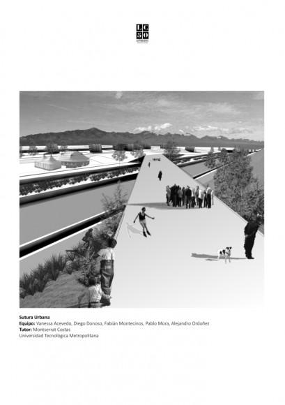 G1: Sutura urbana / Lámina 01. Image Cortesía de Grupo Arquitectura Caliente