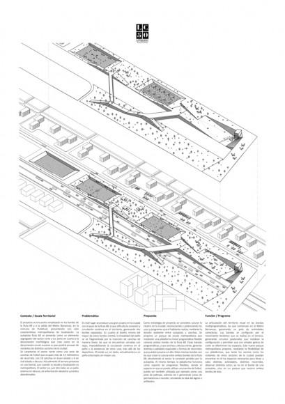 G1: Sutura urbana / Lámina 02. Image Cortesía de Grupo Arquitectura Caliente
