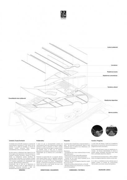 G6: Parque de las ruinas recreativas / Lámina 02. Image Cortesía de Grupo Arquitectura Caliente