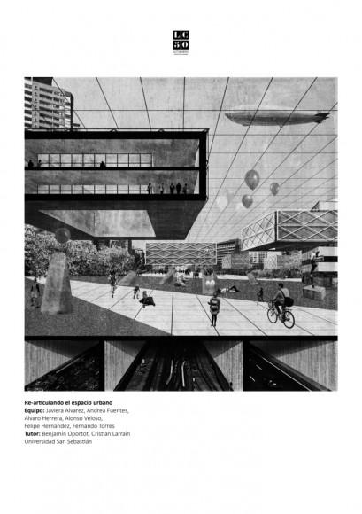 G8: Re-articulando el espacio urbano / Lámina 01. Image Cortesía de Grupo Arquitectura Caliente