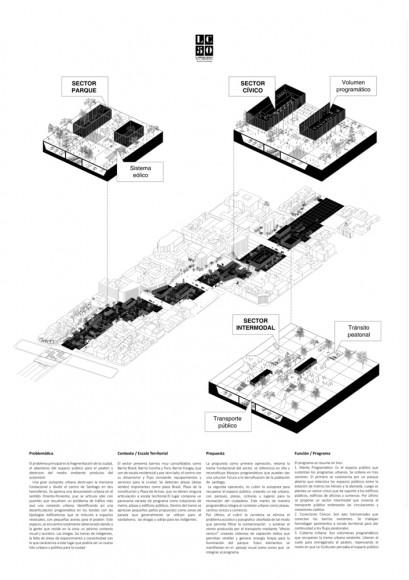G8: Re-articulando el espacio urbano / Lámina 02. Image Cortesía de Grupo Arquitectura Caliente