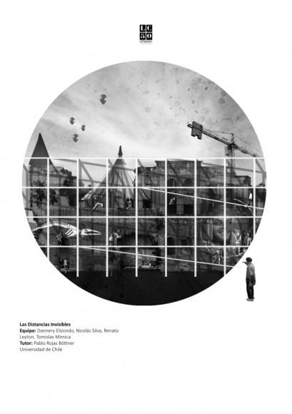 G9: Las distancias invisibles / Lámina 01. Image Cortesía de Grupo Arquitectura Caliente