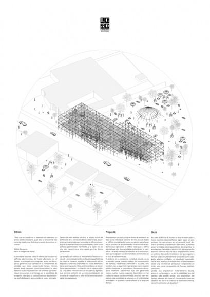 G9: Las distancias invisibles / Lámina 02. Image Cortesía de Grupo Arquitectura Caliente