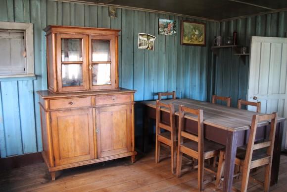 Interior de la casa de la familia e hijos Oporto. Cortesía del equipo investigador.