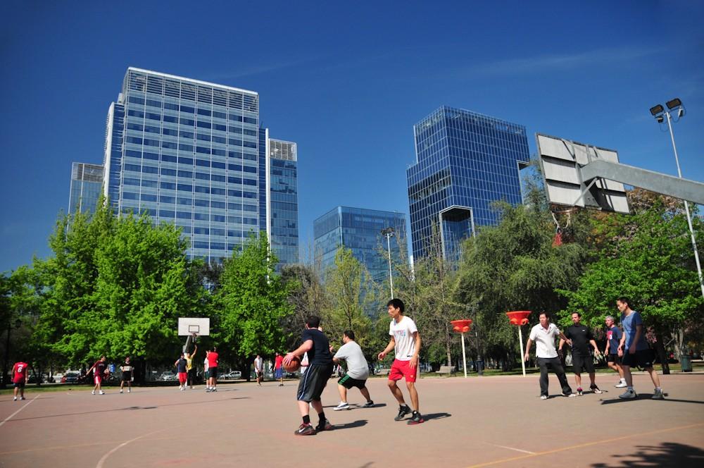 Parque Araucano, Santiago. © Plataforma Urbana