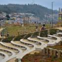 Parque Urbano Costanera Pelluhue, Región del Maule. © MINVU