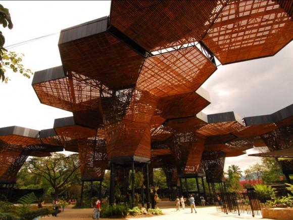 Orquideorama / Plan B Arquitectos + JPRCR Arquitectos (Medellín, Colombia). Imagen Cortesía de Landscape as Urbanism in the Americas