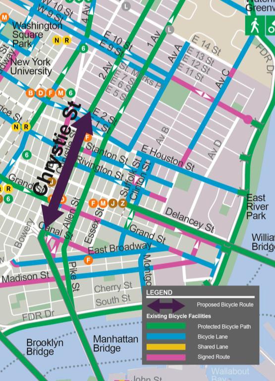 Plano Chrystie St NYC