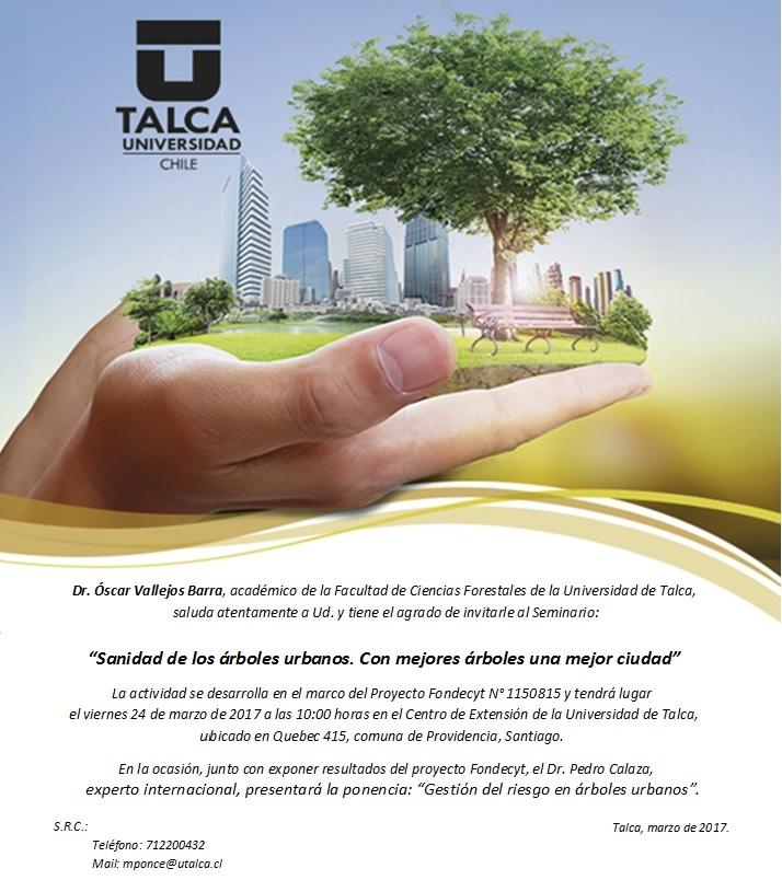 Sanidad de los árboles urbanos. Con mejores árboles una mejor ciudad