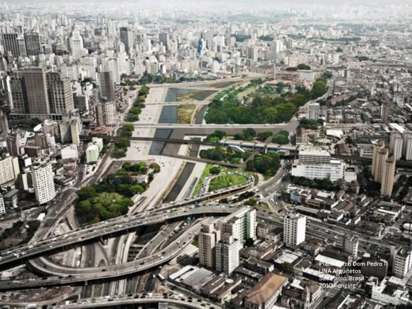 Parque Dom Pedro II / UNA Arquitetos (Sao Paulo, Brasil). Image Cortesía de Landscape as Urbanism in the Americas