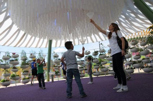 Parque para niños EXPO 2015. Image Cortesía de ZPZ Partners