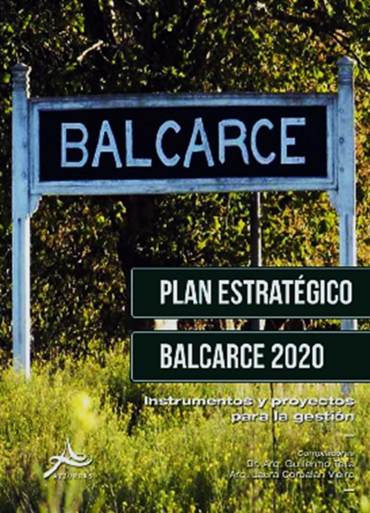 LIBRO Plan Estrategico BALCARCE  2020 - Tapa