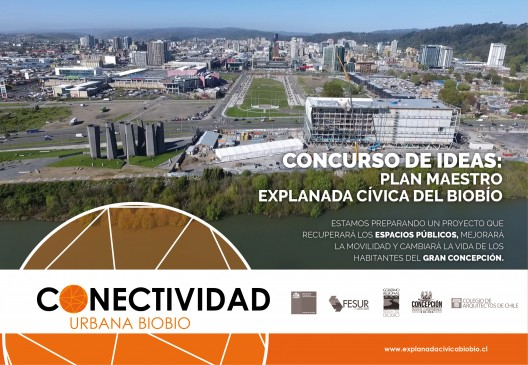 Concurso de ideas: Plan Maestro Explanada Cívica Biobio