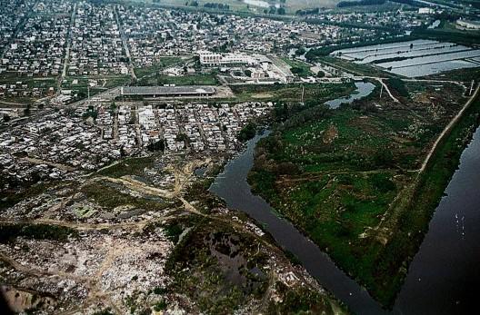 Barrio San Jorge en San Fernando (Provincia de Buenos Aires) en el cual el Instituto Internacional de Medio Ambiente y Desarrollo-América Latina (IIED-AL) promovió acciones de mejoramiento a partir de fuentes de financiación nacional e internacional.