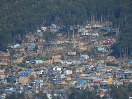 Área de expansión urbana en Ushuaia.