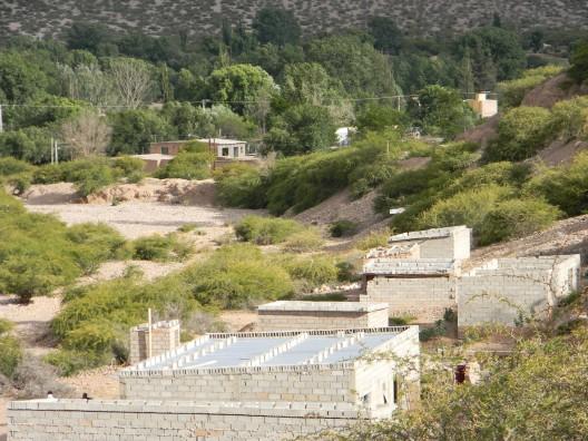 Asentamiento informal en Humahuaca.
